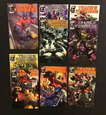 TRANSFORMERS GENERATION 1 Volume 1 #1-6+ Comic Books Full Set MEGATRON 2002