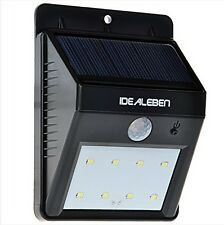 Best LED Idealeben Solar Powered Motion Sensor Outside Sercurity flood Light