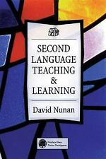 Second Language Teaching and Learning by David Nunan (1998, Paperback)