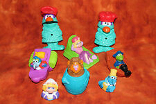Lot of McDonalds Happy Meal Toys Sesame Street
