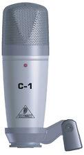 BEHRINGER C-1 STUDIO CONDENSER MICROPHONE - NEW