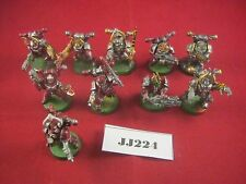 Warhammer 40k Chaos Space Marines x10 Lots of conversion  Plastic Ref JJ224