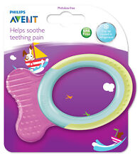 PHILIPS AVENT TEETHER ANIMAL 3 MONTHS+ - baby mouth teether sore gums soothe