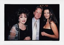 JOAN COLLINS  - MICHAEL DOUGLAS - CATHERINE ZETA JONES - SALE !!! - 1999 Photo