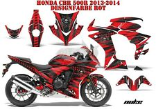 AMR RACING DEKOR GRAPHIC KIT HONDA CBR 250, 500R, 600RR, 1000RR NUKE B