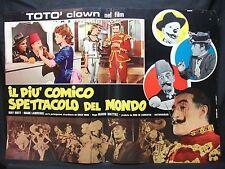 FOTOBUSTA CINEMA - IL PIÙ COMICO SPETTACOLO DEL MONDO - TOTÒ-1953- COMMEDIA - 07