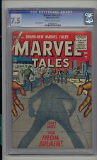 Marvel Tales #141 CGC 7.5 VF- Unrestored Marvel PCH Pre Code Horror CR/OW Pages