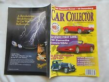 CAR COLLECTOR MAGAZINE-AUG,1998-EXCLUSIVE FIRST LOOK!-'99 CORVETTE CONVERTABLE