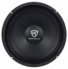 "Rockville RM84PRO 8"" 4 Ohm SPL Competition Midrange Car Speaker, 108dB, 300w"