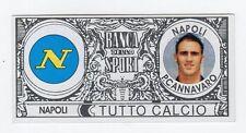 figurina BANCA DELLO SPORT TUTTO CALCIO 2008/2009 NAPOLI CANNAVARO