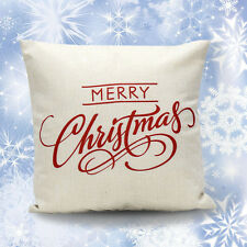 Christmas Letter Sofa Bed Home Decoration Festival Pillow Case Cushion Gift 2017