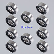 10pcs 608ZZ 608-2RS 8x22x7mm Miniature Ball Bearings High-Speed Small Bearings
