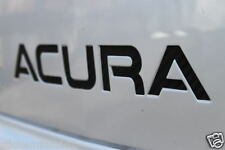 Acura TL Front Bumper Plate Decals 04 05 06 07 08