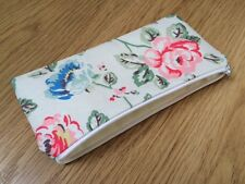 Cath Kidston Rainbow Rose Fabric - Handmade Pencil/Make-Up/Glasses Case