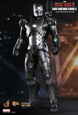 "Sideshow Collectibles Hot Toys Iron Man 3 WAR MACHINE Mark II 1/6"" Scale Figure"