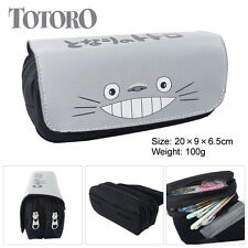 Miyazaki Hayao totoro Cosmetic Brush Travel Bag Case Pen Pencil Pouch Purse