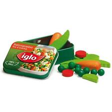 Wooden mixed vegetabes in tin by Erzi pretend play shop toy food kitchen grocery