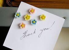 Ensemble de 6 réfrigérateur, mémo, décor fleur magnets.a peu idée de cadeau. bon prix pour acheter