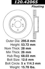Disc Brake Rotor-High Performance Drilled And Slotted fits 97-01 Infiniti Q45