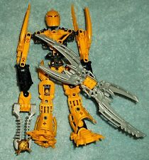 LEGO BIONICLE 8989 GLATORIAN LEGENDS MATA NUI free shipping COMPLETE FIGURE