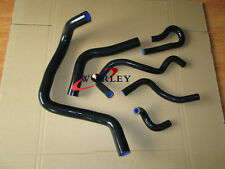 BLK SILICONE RADIATOR/HEATER HOSE FOR HONDA CIVIC EK4/EK9/EG6 B16/B18 1992-2000
