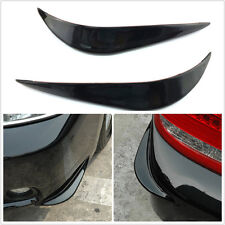 3D Black Streamline Bumper Details Front or back CoverStickers   ProtectorGuard