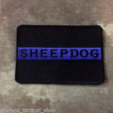 Thin Blue Line SHEEPDOG Patch, Law Enforcement