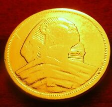 EGYPTE / Egypt    10 milliemes   1957  sphinx   OR/GOLD  PL