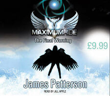 """NEW """"Maximum Ride - The Final Warning"""" James Patterson - 4CD Audiobook"""