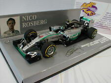 "Minichamps 410150306 # Mercedes AMG W06 Formel 1 2015 Rosberg "" USA GP "" 1:43"