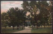 Entrance to Oak Hill Cemetery Lawrence KS , C.W. Mettner 549