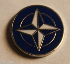 military pin nato otan logo