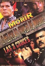 Con Ganas De Morir & LAS 3 Cruces FACTORY NEW DVD FREE 1ST CLASS SHIPPING HERE!