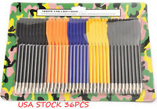 36pcs  Plastic Arrow Bolts Crossbow Pistol Hand Held Archery Hunting50-80 LB
