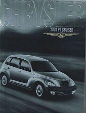 Lrg. 2001 Chrysler PT CRUISER Brochure / Catalog w/Color Chart: P.T.,TOURING,'01