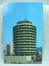 1958 CAPITOL RECORDS Hollywood & Vine CA 13 stories Flashes MORSE CODE on tower