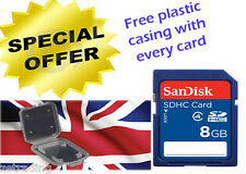 GENUINE SANDISK 8GB SDHC MEMORY CARD FAST SPEED FOR DIGITALCAMARA SD CARD NEW