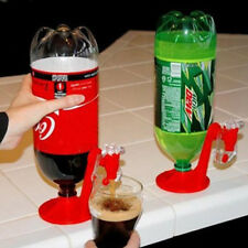 Home Bar Coke Fizzy Soda Soft Drinking Drink Beverage Bottle Saver Dispenser Red