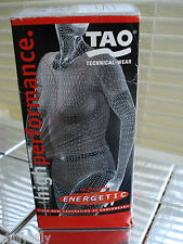 Tao Technical Wear Women Energetic Power Dry 3/4 Pants Size Eur 44 White BNIB