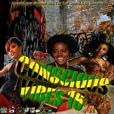 CONSCIOUS VIBES VOL 16  REGGAE ROOTS CULTURE LOVERS ROCK MIX CD