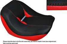 BLACK & RED CUSTOM FITS HARLEY DAVIDSON VROD NIGHT ROD SPECIAL FRONT SEAT COVER