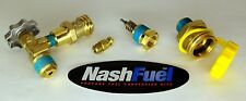 NEW FORKLIFT PROPANE TANK COMPLETE VALVE REPLACEMENT SERVICE BLEEDER FILL RELIEF