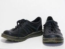 Doc DR. MARTENS Black Oxford Lace Up Shoes Mens 6 Womens 7 EUC Free Shipping