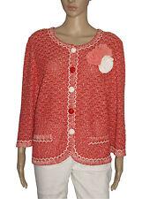 Liola Giacca maglia - Red knitwear jacket