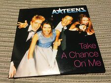 A-TEENS A TEENS TAKE A CHANCE ON ME CD SINGLE 1 TRACK CARD SLV PROMO SPAIN ABBA