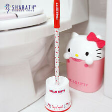 hello kitty toilet brush bathroom