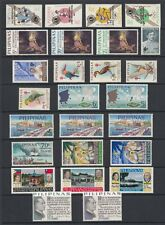 (RP67) PHILIPPINES - 1967 COMPLETE YEAR STAMP SETS. MUH