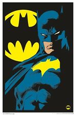 BATMAN - NEON BLACKLIGHT POSTER - 24X36 FLOCKED DC COMICS 14524