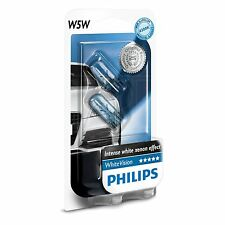 PHILIPS whitevision W5W-mise à niveau éclairage latéral / indicateur ampoule / lamp-Twin Pack