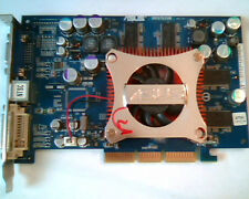 AGP card ASUS V9570/TD/256M 97TN1 G430146 A01-0406 V9570 256M VGA DVI Video